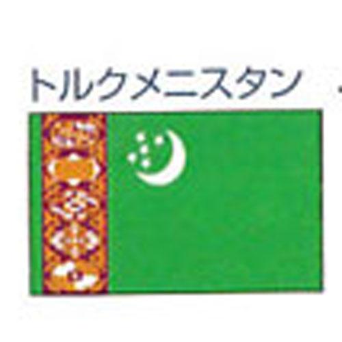 エクスラン外国旗 120×180 トルクメニスタン(大) アクリル100% [送料無料] 旗 フラッグ FLAG 迎賓 式典