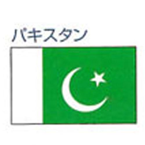 エクスラン外国旗 90×135 パキスタン(小) アクリル100% [送料無料] 旗 フラッグ FLAG 迎賓 式典