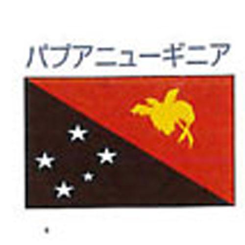 エクスラン外国旗 120×180 パプアニューギニア(大) アクリル100% [送料無料] 旗 フラッグ FLAG 迎賓 式典