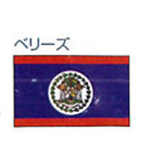 エクスラン外国旗 90×135 ベリーズ(小) アクリル100% [送料無料] 旗 フラッグ FLAG 迎賓 式典