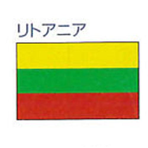 エクスラン外国旗 90×135 リトアニア(小) アクリル100% [送料無料] 旗 フラッグ FLAG 迎賓 式典
