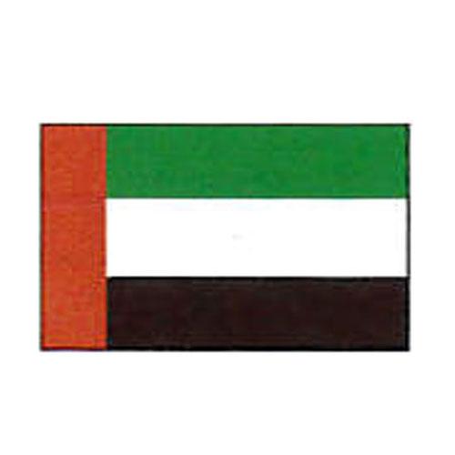 外国旗 卓上旗 12×18 アラブ首長国連邦 絹羽二重 [送料無料] 旗 フラッグ FLAG 迎賓 式典