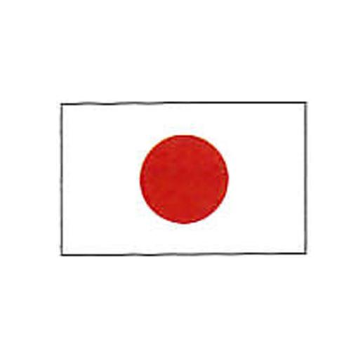 エクスラン外国旗 90×135 日本(小) アクリル100% [送料無料] 旗 フラッグ FLAG 迎賓 式典