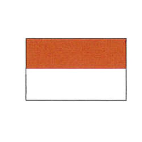 エクスラン外国旗 90×135 インドネシア(小) アクリル100% [送料無料] 旗 フラッグ FLAG 迎賓 式典