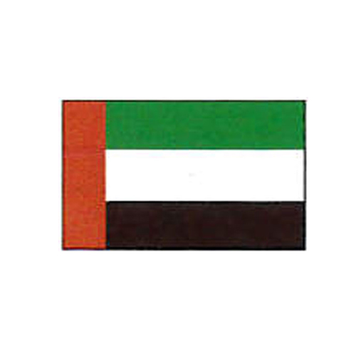 エクスラン外国旗 90×135 アラブ首長国連邦(小) アクリル100% [送料無料] 旗 フラッグ FLAG 迎賓 式典