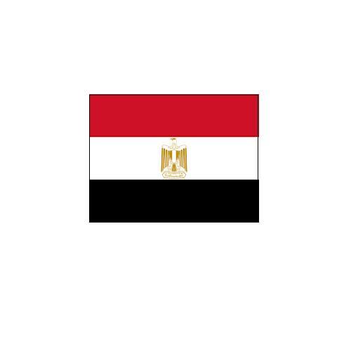 オーダー 外国旗 エジプト H120×W180cm テトロンポンジ製 Egypt 旗 フラッグ FLAG [送料無料]NB 160か国対応
