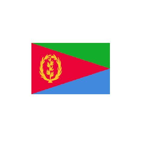 オーダー 外国旗 エリトリア H120×W180cm テトロンポンジ製 Eritrea 旗 フラッグ FLAG [送料無料]NB 160か国対応