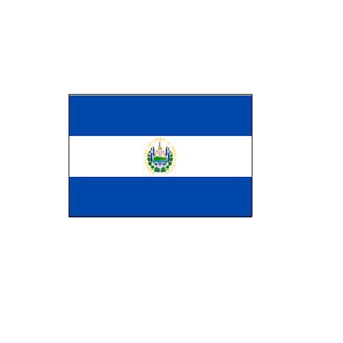オーダー 外国旗 エルサルバドル H120×W180cm テトロンポンジ製 Elsalvador 旗 フラッグ FLAG [送料無料]NB 160か国対応