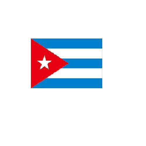 オーダー 外国旗 キューバ H120×W180cm テトロンポンジ製 Cuba 旗 フラッグ FLAG [送料無料]NB 160か国応