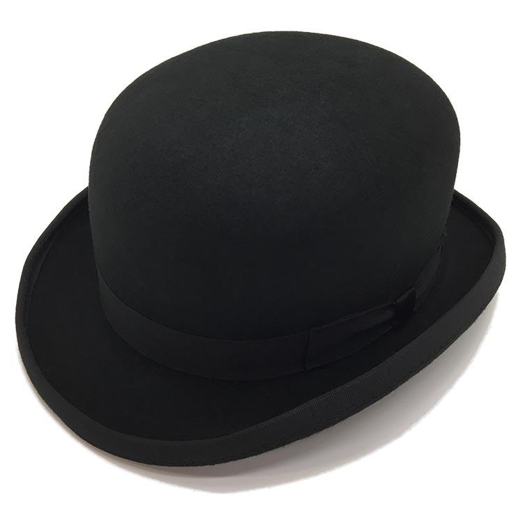 CHRISTYS' LONDON クリスティーズロンドン ボーラーハット ショートボーラー 帽子 日本製 ハット メンズ 秋 冬 ウール フェルト ブラック おしゃれ こだわり 【 ラッピング 送料無料 】 ギフト プレゼント