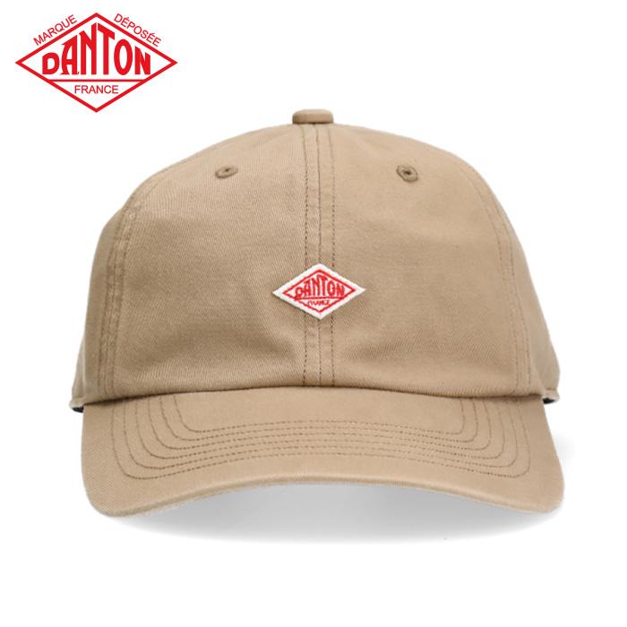 DANTON COTTON TWILL CAP ダントン クリアランスsale!期間限定! キャップ コットン 親子 お揃い 洗える 正規取扱 帽子 ネイビー ブラック ファッション ベージュ 通販 メンズキャップ 日よけ ホワイト ぼうし シーズンレス オシャレ レディースキャップ アウトドア