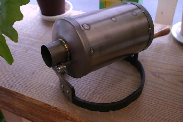 【焙煎機】【送料無料】 チタン 製 コーヒーロースター 手回し焙煎機 WELD ONE