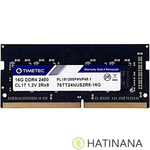 TT-Timetec Hynix 本物 IC 16GB ノートPC ノートPC用メモリ DDR4 2400MHz CL17 永久保証 PC4-19200 1.2V 2Rx8 260pin 高級な SODIMM