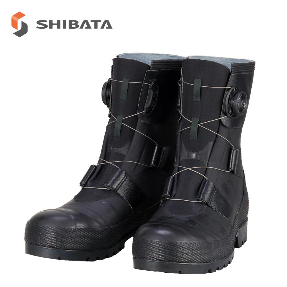 アウトレット品 SB3004 シバタ工業 安全長靴 安全靴 ゴム長靴 作業長靴 長靴 作業用 作業用長靴 boa 耐滑 日本製