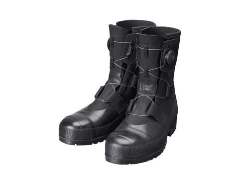SB3004(ブラック) CE メンズ 安全長靴 安全靴 ゴム長靴 作業長靴 長靴 作業用 作業用長靴 boa 耐滑 日本製