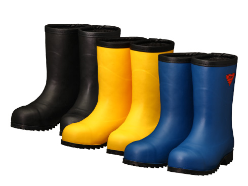 AC061(ネイビー)AC101(イエロー)AC121(ブラック) セーフティベアー#1011 白熊(フード無し) メンズ レディース 安全長靴 安全靴 ゴム長靴 作業長靴 長靴 保温 防臭 抗菌 防寒 耐滑 除雪 排雪 日本製