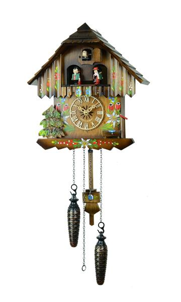 鳩時計 壁掛け時計 ハト時計 はと時計 ポッポ時計 クォーツ式430-6QMT 10P09Jul16