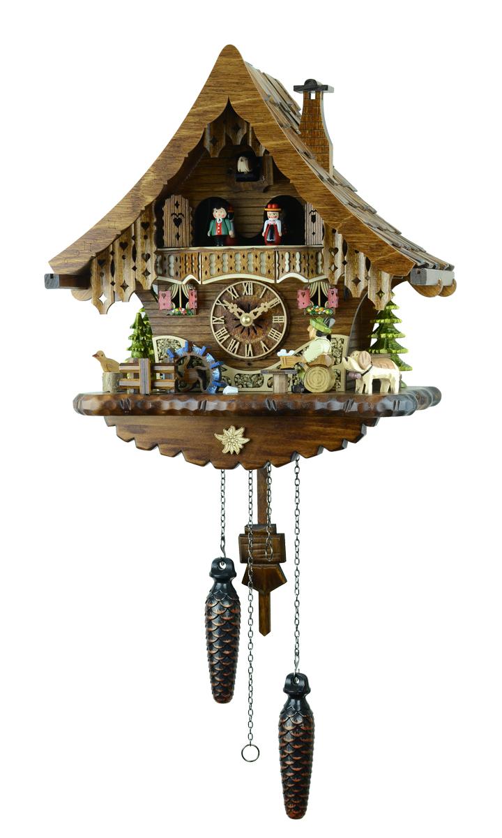 鳩時計 壁掛け時計 ハト時計 はと時計 ポッポ時計 471QMT【ENGSTLER鳩時計ムーブメント】鳩時計
