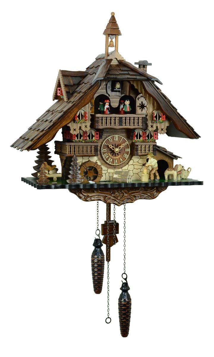 鳩時計 壁掛け時計 ハト時計 はと時計 ポッポ時計 481QMT【ENGSTLER鳩時計ムーブメント】鳩時計10P09Jul16