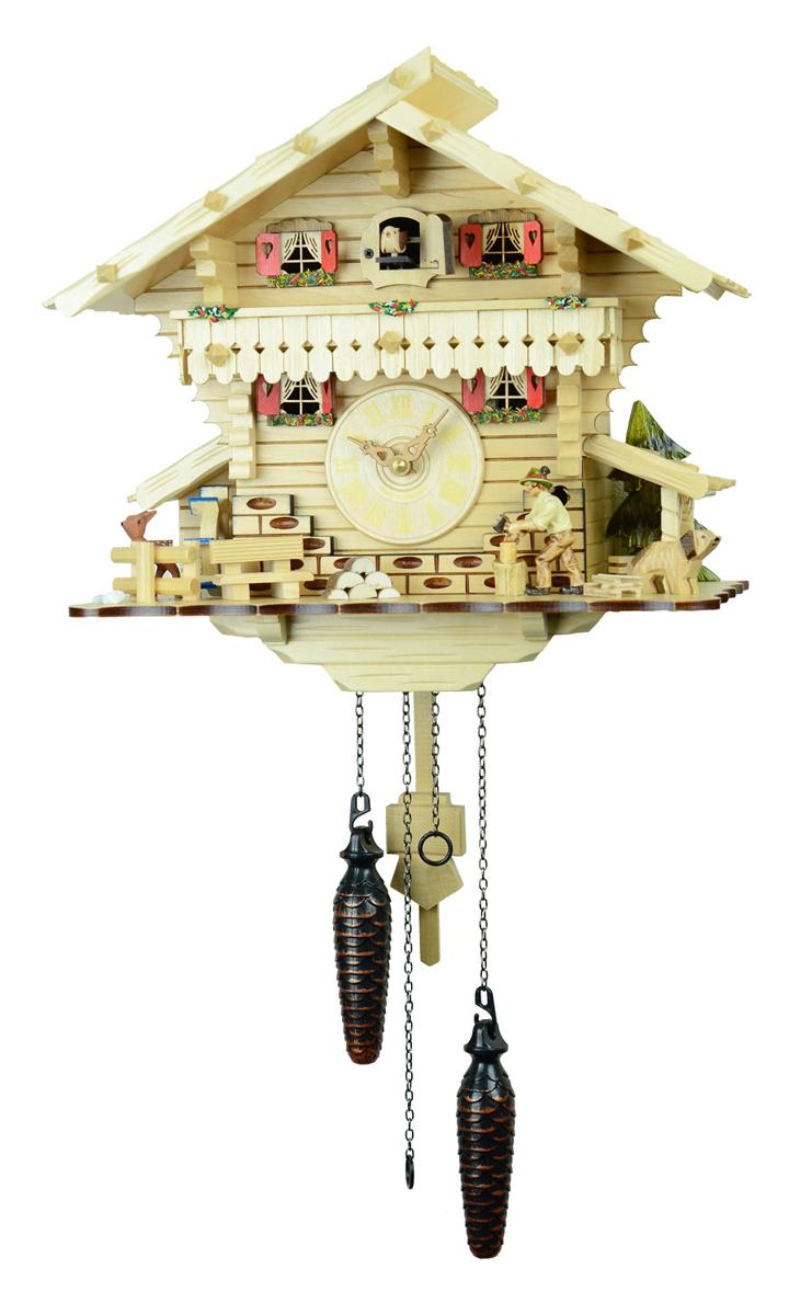 鳩時計 壁掛け時計 ハト時計 はと時計 ポッポ時計 482-7QM【ENGSTLER鳩時計ムーブメント】鳩時計10P09Jul16
