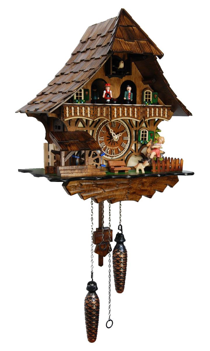 鳩時計 壁掛け時計 ハト時計 はと時計 ポッポ時計 クォーツ鳩時計4965QMT