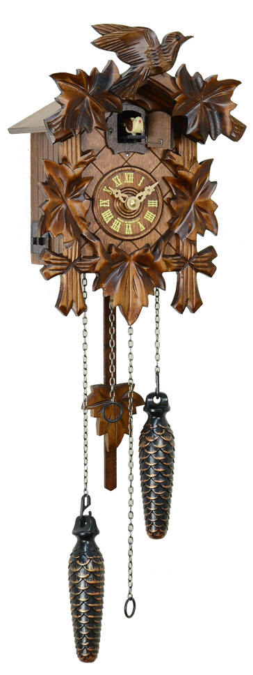 鳩時計 壁掛け時計 ハト時計 はと時計 ポッポ時計 522QM