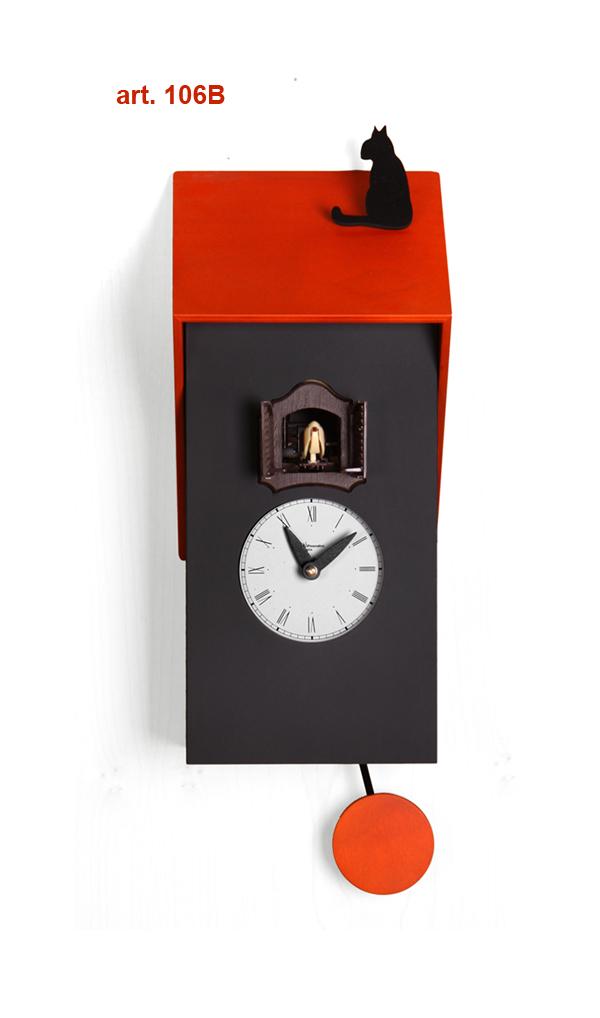 鳩時計 壁掛け時計 ハト時計 はと時計 ポッポ時計 クォーツ式 Pirondini(ピロンディーニ)クク時計Cucu Vicenza 106B ピロンディーニ社 クォーツ鳩時計 ★2年保証
