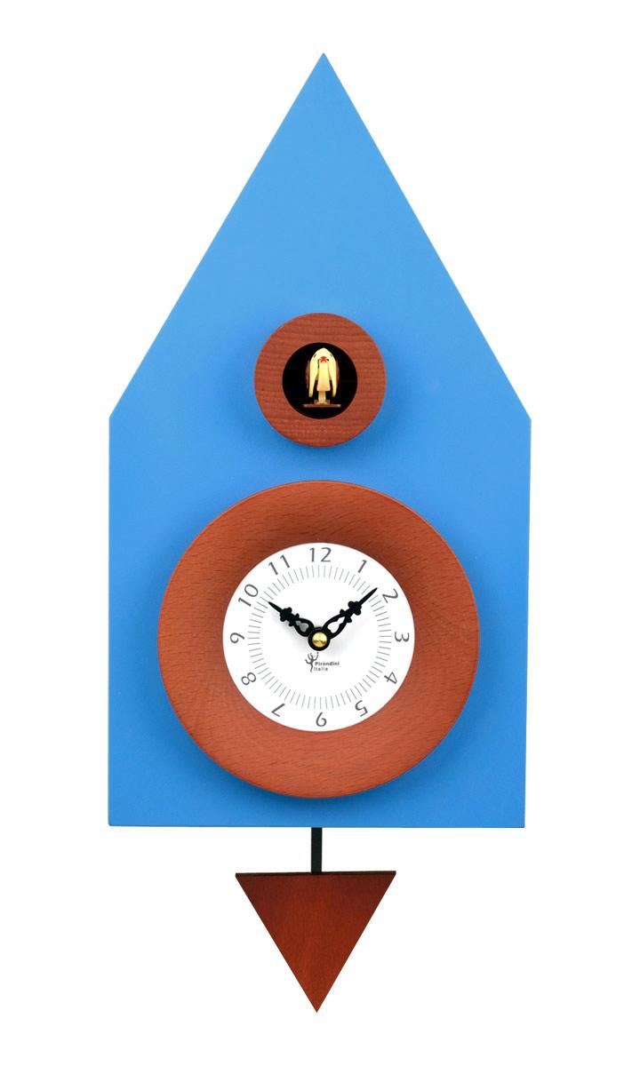 鳩時計 壁掛け時計 ハト時計 はと時計 ポッポ時計 クォーツ式 Pirondini(ピロンディーニ)クク時計 Pirondini Cucu Teatrino 114 クォーツ鳩時計 ★2年保証