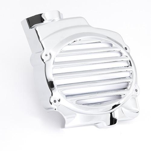 バイク用品 モーターサイクル オートバイ バイクパーツ エンジンカバーズーマー 最新 FI 取寄品 オプティマム メッキラジェターカバーOptimum セール 限定特価 AF58