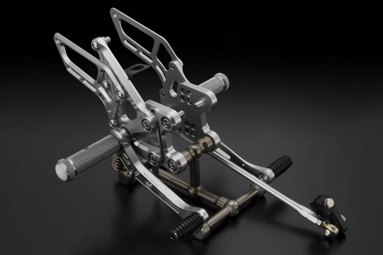 【人気沸騰】 バイク用品 ステップ ステップ&ステップボード 取寄品 ステップ&タンデムキットK-FACTORY ライディングステップ メタリックシルバー ZX-14R 12-ケイファクトリー バイク用品 163MZBR072N 取寄品, タラチョウ:24813c02 --- bellsrenovation.com