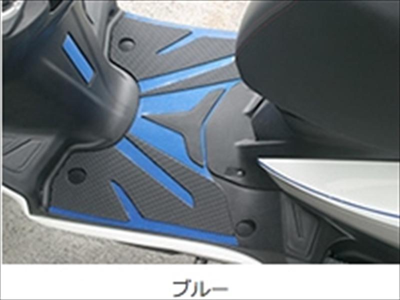 バイクパーツ モーターサイクル オートバイ  バイク用品 アクセサリー ステッカー&ワッペン&キーホルダー&エンブレムアディオ SBカーボンシート ブルー シグナスX(SR) SE44J 13-ADIO BK48206 取寄品