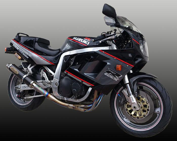 手数料安い バイク用品 マフラー 4ストフルエキゾーストマフラーテックサーフ テマゲチタンフルEX カーボン GSXR1100 89-92techserfu T20-S004-0102 取寄品 セール, a-mono 8ee5361c