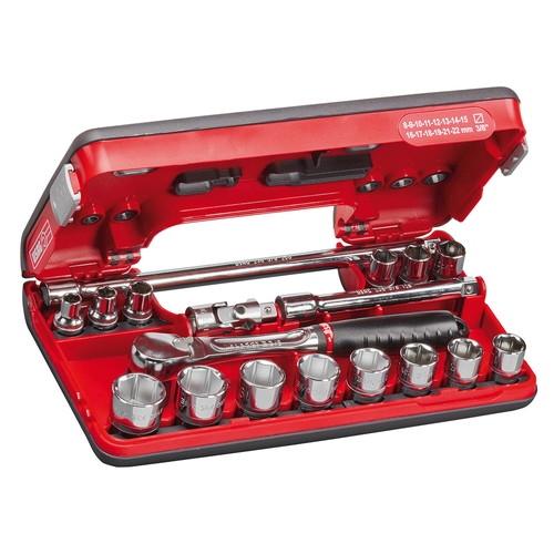 バイク整備工具 工具セット3/8sq ツールセットUSAG (ウーザック) 609-3/8EB 1セット取寄品 セール
