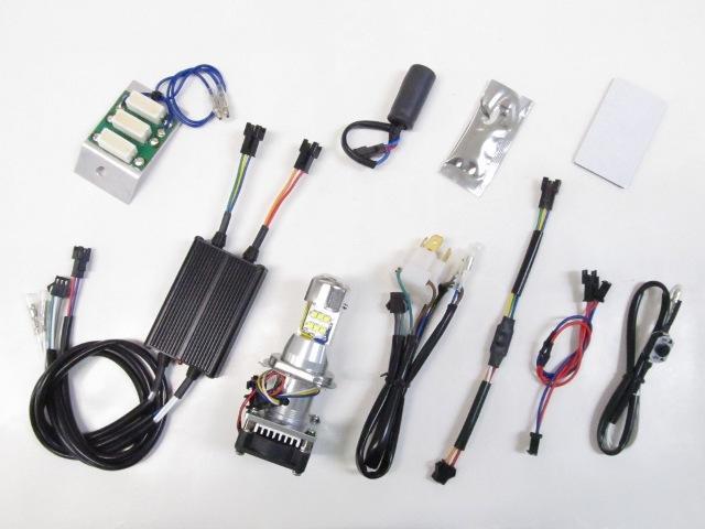 バイクパーツ モーターサイクル オートバイ バイク用品 電装系Protec プロテック LB4HL-GRM LEDヘッドライトバルブ Hi-Lo同時点灯 グロム 13-15(JC61)65071 4961421416183取寄品