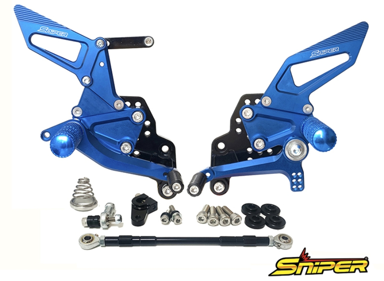 【使い勝手の良い】 バイク用品 ステップSNIPER バイク用品 スナイパー ブルー バックステップ ブルー GSX-R125 150 18- ステップSNIPER GSX-S125 150SP0095BL 4589993472347取寄品 セール, タイヤザウルス:b5ec9d2e --- gerber-bodin.fr
