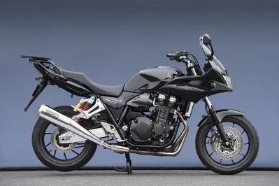 豪華な バイクパーツ モーターサイクル オートバイ バイク用品 マフラーヤマモトレーシング YAMAMOTORACING CB1300SB 4521717006698取寄品 SUS メガホン 海外 14-11313-01MSN スリップオン