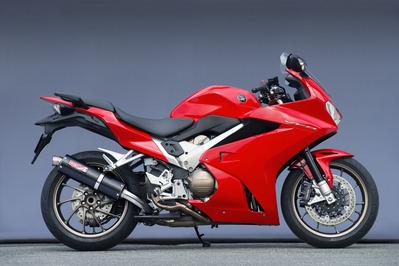 バイクパーツ モーターサイクル オートバイ バイク用品 マフラーヤマモトレーシング YAMAMOTORACING 14-1710802-01NCN SUS VFR800F 4521717006940取寄品 年中無休 スリップオン カーボンサイレンサー 新作通販