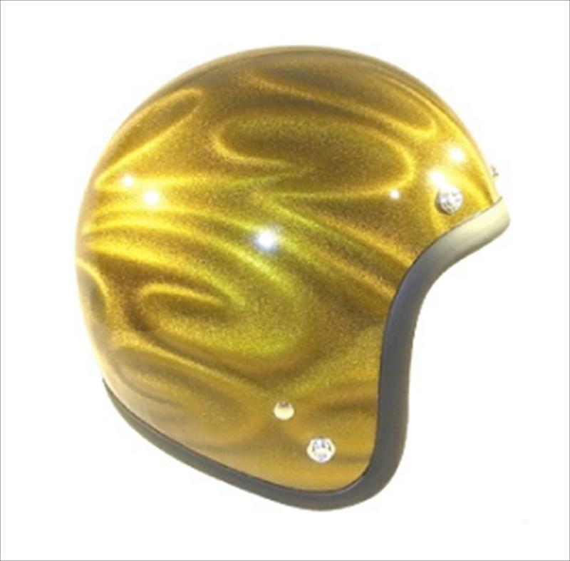 バイク用品 ヘルメット72JAMジャム ナナニージャム ヘルメット 3D GHOST TRIBAL ゴールドJG-18 4562286790526取寄品 セール