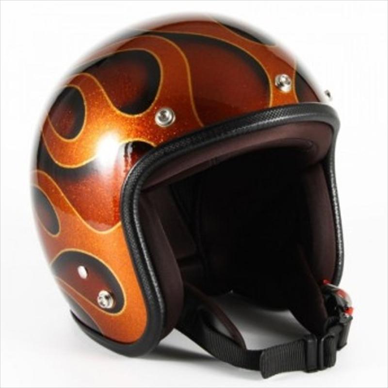 バイク用品 ヘルメット72JAMジャム ナナニージャム JETヘルメット FLAMES ORANGE #フリーJCP-43 4562286791226取寄品 セール