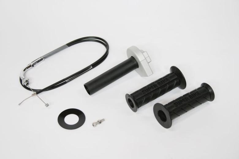 バイク用品 吸気系 エンジンACTIVE アクティブ ミニハイスロKIT SLV φ50 600mm30100011 4538792483542取寄品 セール