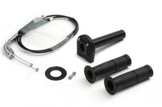 バイク用品 吸気系 エンジンACTIVE アクティブ スロットルKIT TYPE-3 BLK φ28 GSX1300R 99-07 GSXR1000 02-061063172 4538792579238取寄品 セール