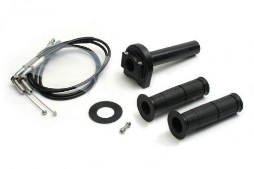 バイク用品 吸気系 エンジンACTIVE アクティブ ハイスロKIT T-1 BLK φ28 TMR用 1050mm1068615 4538792670515取寄品 セール