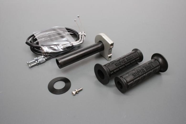 バイク用品 吸気系 エンジンACTIVE アクティブ スロットルKIT T-3 BLK φ42 ステン金具 CBR250R 111061742SU 4538792695808取寄品 セール
