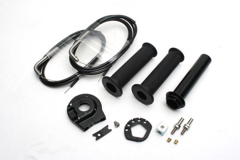 バイク用品 吸気系 エンジンACTIVE アクティブ ハイスロKIT [EVO2] BLK 巻取φ44 汎用 1400mm1064210 4538792838786取寄品 セール
