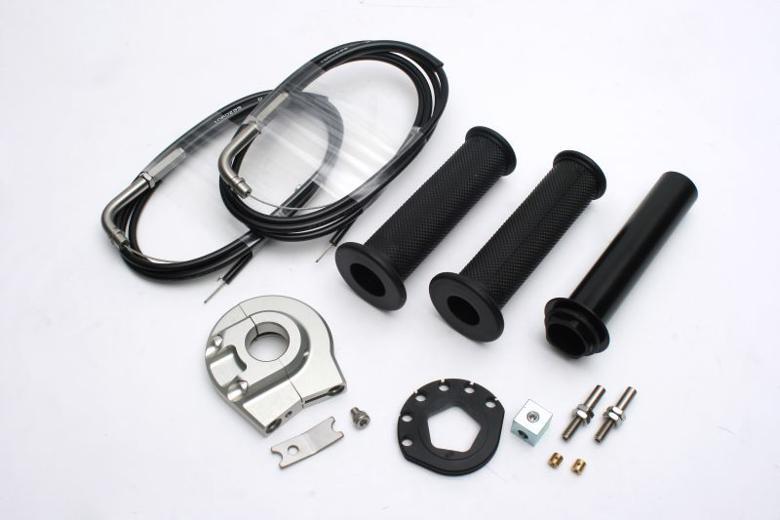 バイク用品 吸気系 エンジンACTIVE アクティブ ハイスロKIT [EVO2] SIL ラージボディー 巻取φ48 汎用 1400mm1064301 4538792838816取寄品 セール