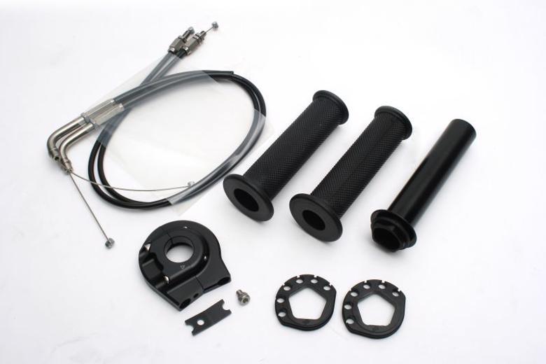 バイク用品 吸気系 エンジンACTIVE アクティブ ハイスロKIT [EVO2] BLK 巻取φ38 401065102 4538792838908取寄品 セール