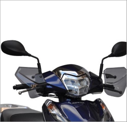 信憑 バイクパーツ モーターサイクル オートバイ バイク用品 外装AF-ASAHI アサヒフウボウ 評価 旭風防 セール LAED125 ナックルバイザー HN-08 4560122613510取寄品 2BJ-JF45HN-08