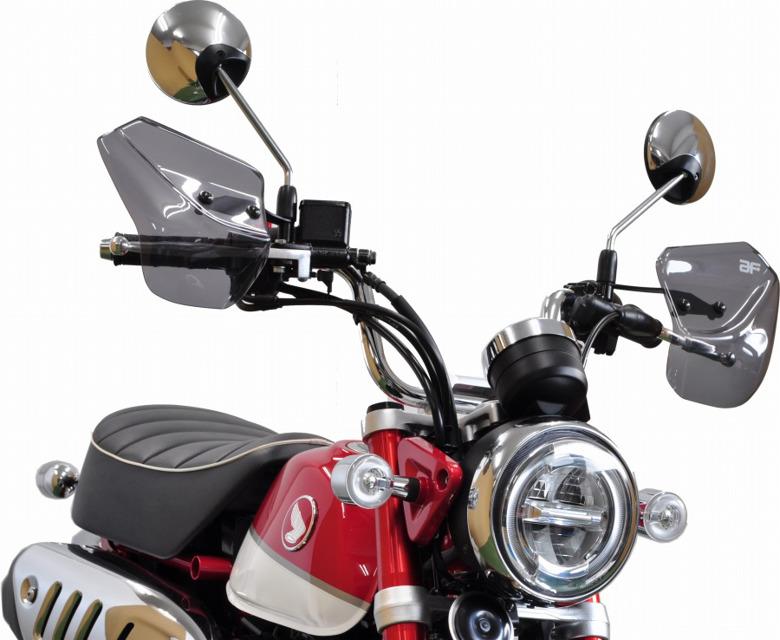 バイクパーツ モーターサイクル オートバイ バイク用品 外装AF-ASAHI 旭風防 ナックルバイザー スウィッシュ 2BJ-JB02 訳あり品送料無料 モンキー125 訳あり 4560122613602取寄品 セール 2BJ-DV12BHN-11 HN-11