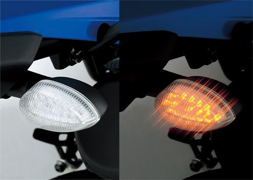 【YS GEAR】【ワイズギア】【バイク用】LEDクリアウインカーセット WR250R/X【Q5K-YSK-003-X03】※旧品番【Q5K-YSK-003-X01】