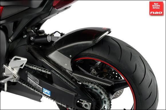 【nao】【エヌエーオー】【バイク用】Rear Fender FRP-Black リアフェンダー FRPブラック CBR1000RR 08-【010122-1RFB14】※受注生産納期2ヶ月